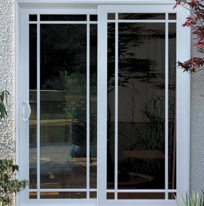 Stylish Energy Efficient Vinyl Patio Doors