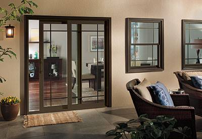 Custom Vinyl Patio Doors